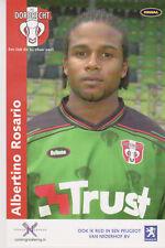 AUTOGRAMMKARTE / AUTOGRAPHCARD Albertino Rosario FC Dordrecht 2003/2004