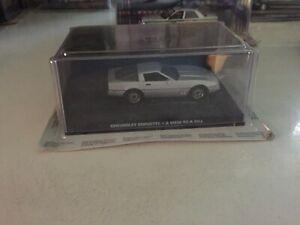 James Bond Die Cast Car Collection 37 Chevrolet Corvette A View to a kill