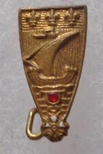 Insigne boutonnière BSPP SAPEURS POMPIERS DE PARIS très ancien miniature 16 mm