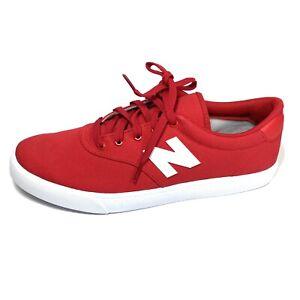New Balance All Coasts 55 Men's Low Top Sneaker Red Footwear Skateboard Size 10D