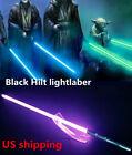 YDD Star Wars Lightsaber Black Metal Handle Re Force FX RGB Light Props US Stock