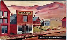KEMMERER, WY Wyoming   JC PENNEY First Store 1902   1950s Adv.  Postcard