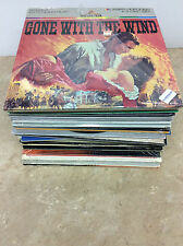 lot of 34 Laserdiscs The Sting, Beverly Hills Cop, Gone With The Wind, MASH