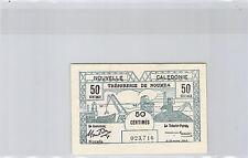 NOUVELLE CALEDONIE NOUMEA 50 CENTIMES 29 MARS 1943 N° 023716 PICK 54