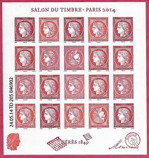 France-Salon du timbre 2014. Cérès- Feuillet F4871 Neuf**