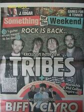 SOMETHING FOR THE WEEKEND TRIBES / BIFFY CLYRO 20 January 2012 The Sun