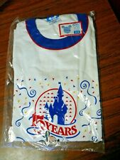Vintage T-Shirt 15th Anniversary Walt Disney World XL In original bag