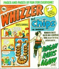 WHIZZER & CHIPS Comics on PC-DVD 175 issues  FREEPOST