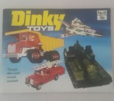Dinky Toys Catalogue No 9 1973 - dinky toys booklet NO 9