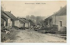 HUMES Haute Marne CPA 52 une rue attelage