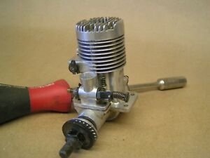 FOX 25 R/C engine, great condition, baffle style exhaust, LOOKS POLISHED