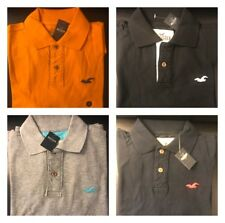 Hollister by Abercrombie Men's Polo T-shirts, Size M,L,XL