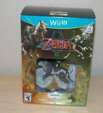 Legend Of Zelda Twilight Princess HD Wolf Link Amiibo Nintendo Wii U Brand New