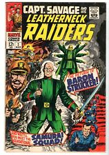 Captain Savage and His Leatherneck Raiders #2, Fine Condition