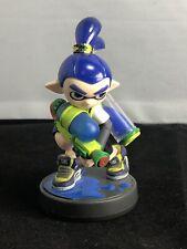BLUE INKLING BOY Amiibo Nintendo Switch Splatoon 2 Wii