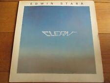 EDWIN STARR - CLEAN - LP/RECORD - 20TH CENTURY RECORDS - BT 559 - UK - 1978