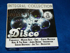 10 CD INTÉGRALE DISCO mayfield BROWN marvin gaye KOOL & THE GANG gibson brothers