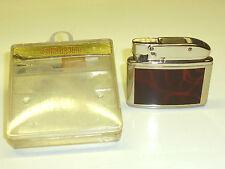 CONSUL (GEBRÜDER KÖLLISCH) POCKET LIGHTER W. LACQUER CASE - OVP - 1952 - GERMANY