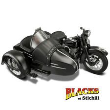 Maisto 1:18 SCALA 1948 Harley Davidson FL Panhead moto e Side car model