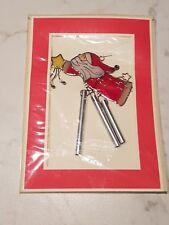 Set Addobbi natalizi appendere porta muro Natale + busta biglietto regalo Babbo