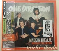 2015 JAPAN ULTIMATE FAN EDITON BOX ONE DIRECTION MADE IN THE A M CD 2
