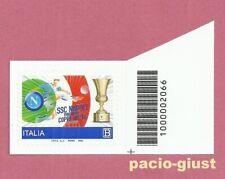 Italia 2020 NAPOLI VINCITRICE COPPA ITALIA  Codice a Barre 2066