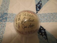 collectible 1994 texas rangers signed baseball