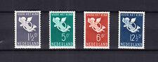 Nederland 289 - 292 Kinderzegels 1936 postfris met de originele gom
