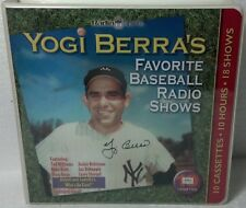 2004 Yogi Berra's Favorite Baseball Radio Shows Cassettes (10) Stengel/ruth/dean
