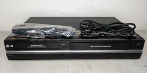 LG RC797T SUPER MULTI DVD / VHS RECORDER WITH REMOTE NEVER PLAYED OPEN BOX