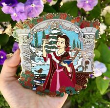 Disney Belle Beauty And The Beast Winter Dress Masterpiece Mp Le 50 Fantasy Pin