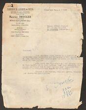 """BETHISY-SAINT-MARTIN 60: MEUBLE ROTIN """"Maurice DRUCKER"""""""