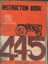 Universal UTB Tractor 445 Operators Manual