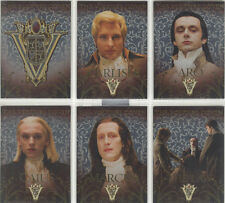 "Twilight New Moon - ""Volturi Coven Cards"" Set of 6 Chase Cards #VO-1-6"
