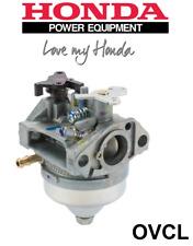 GENUINE HONDA CARBURETOR SUITS GSV190 ENGINES HRU197 SERIES PUSH MOWERS CARBY