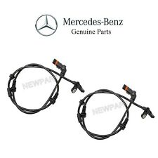 NEW Mercedes W216 W221 CL550 S350 S550 Pair Set of 2 Front ABS Sensor Genuine