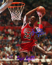 Michael Jordan SIGNED AUTOGRAPHED 10X8 PRE-PRINT PHOTO