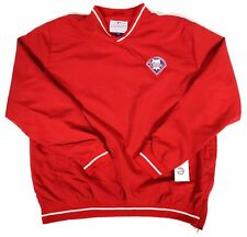 NEW - MLB Philadelphia Phillies Pullover Practice Windshirt (L) - FREE SHIPPING