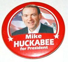 2008 MIKE HUCKABEE campaign pin pinback button political presidential election