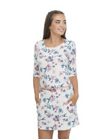 Ragwear Kleid Tanya Flowers weiß Größe XS oder XL