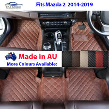 AU Made 3D Customised Tailored Floor Mats Multi-Colours for Mazda 2 2014-2019