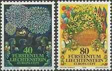 Timbres Europa Liechtenstein 705/6 ** lot 6692