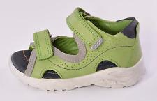 Ecco Peekaboo Infant Boys Green Leather Sandals UK 5 EU 21 US 5.5 RRP £40