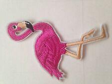 Flamingo Bird Iron on Applique patch