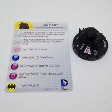 Heroclix World's Finest set Batman #018 Uncommon figure w/card!