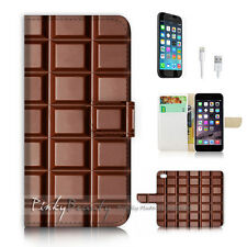 ( For iPhone 7 ) Wallet Case Cover P2332 Chocolate