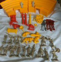 Vintage Marx Recast Ben Hurr Plastic Parts Pieces Figures 54mm Gladiators