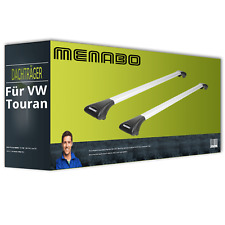 Menabo Ariete - Dachträger - Aluminium - für VW Touran Typ 5T1 NEU komplett