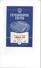 Division 3 Football League Fixture Programmes (1958-1969)