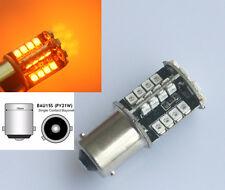 4x Gelb/Amber PY21W 1156 BAU15S 44 SMD LED Canbus Tagfahrlicht Lampe Blinker 12V